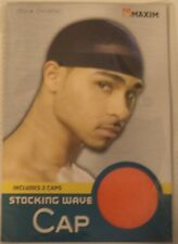 Two Maxim Classic Stocking Wave-Caps Size one size fit all Color Red