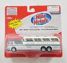 CLASSIC METAL WORKS 1/87 HO GMC GREYHOUND SCENICRUISER BUS ST. LOUIS # 33104 F/S