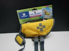 Top Paw Neoprene Reflective Dog Life Jacket (X-Small For Dogs 5-15 lbs) Yellow