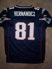REEBOK New England Patriots AARON HERNANDEZ nfl Jersey YOUTH KIDS BOYS (xl)