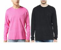 DIESEL T AVON LS Mens T-Shirt Long Sleeve Crew Neck Casual Summer Cotton Tees