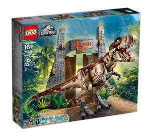LEGO 75936 Jurassic World T. rex Rampage Park Set