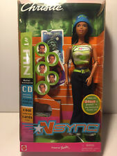 2000~~ NSYNC #1 FAN Barbie EXCLUSIVE Jointed Generation Girl Dance w CD#50535