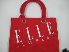 ELLE Jewelry Beautiful Red Bag Brand New