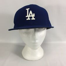 LA Dodgers Authentic Collection 59Fifty MLB All Teams on Field Flat Brim New Era
