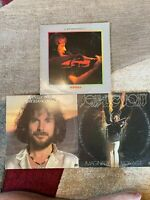 Jean-Luc Ponty 3 JAZZ vinyl LP lot - Aurora - Imaginary Voyage - Enigmatic Ocean
