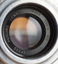 Cooke Speed Panchro 50mm f/2 lens, Mitchell Std mount | ser 1 cine 50 f2 s1