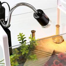 150W Flexible Reptile Lizard Turtle Basking Heat Light Lamp Holder UV Bulb Clip