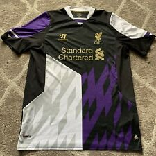 Liverpool FC Warrior Third Shirt 2013/14 XL Extra Large Rare Purple Away 3rd