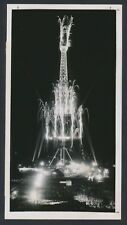 "1950 Eiffel Tower, Artistic Photo ""Fireworks on the Famous Structure"" Art Photo"