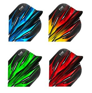 Harrows Fire Extra Strong Dart Flights - Standard Shape - Choose Colour