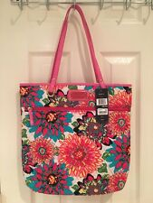 NWT Authentic Tommy Hilfiger Floral Tote Bag Purse $78