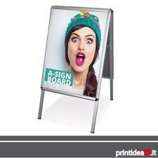Espositore CAVALLETTO per interno/esterno + stampa bifacciale B0 100x140 cm