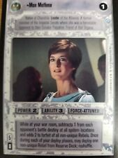 Star Wars CCG Endor Mon Mothma NON-MINT SWCCG