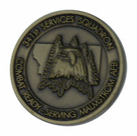 US Air Force 341st Operations Group Malmstrom Air Force Base Challenge Coin