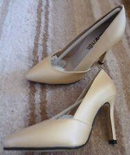 BNIB Cinderella of Boston Shoes Petite US 2.5 / UK 13.5 Gold  -Wedding 8.5cm