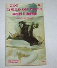 Robert E. Howard, The Hand of Kane, Centaur Press, vintage adventure