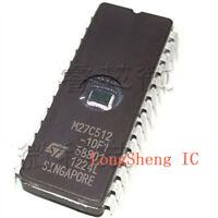 50PCS IC M27C512-10F1 27C512 CDIP-28 ST NEW GOOD QUALITY