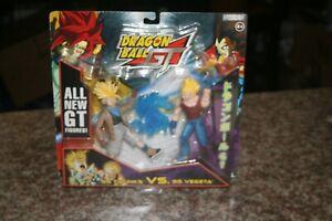 2004 - DragonBall GT, Jakks , SS TRUNKS vs SS VEGETA  2-Pack Figure Set