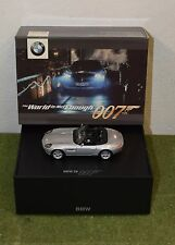 James Bond 007 SCALA 1:43 IL MONDO NON BASTA james bond EDITION BMW Z8