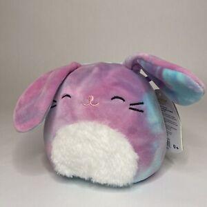 "Squishmallow Ryder, Tie Dye Bunny Rabbit 5"" Easter 2021"