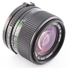 Canon FD 28mm f2 manual focus prime lens for Canon FD mount f2.0