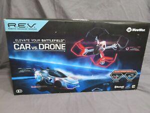 New in Box REV Air Car vs. Drone WowWee Robotic Enhanced Vehicle