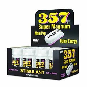 357 Super Magnum 12 Bottles  Safe as Coffee,Stay Alert Caffeine Endurance Energy