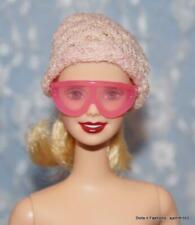 Barbie Doll Friends Clear Pink Frame Ski Sports Sunglasses