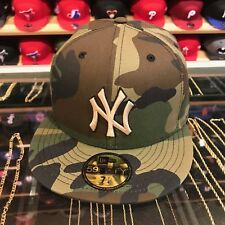 feb35399c8a New Era New York Yankees Fitted Hat All Woodland Camo Tan