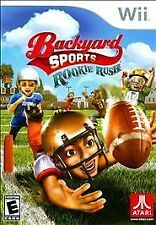 Backyard Sports Rookie Rush WII! FOOTBALL, KIDS FAMILY FUN GAME PARTY NIGHT!