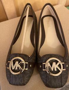 NEW Michael Michael Kors Women's Moccasin 71/2 M Brown