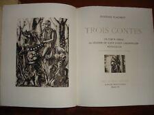 FLAUBERT -  TROIS CONTES - ILLUSTRE PETTIER