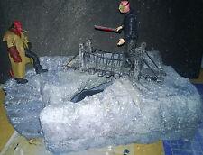 """Custom Made diorama pour 3.75"""", 1:18 sclae figures"""