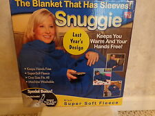 Snuggie, The Blanket That Has Sleeves with book light. (#1434)