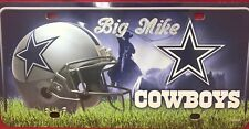 Dallas Cowboys NFL License Plate Personalized Engraved Auto Car Tag Vanity Plate
