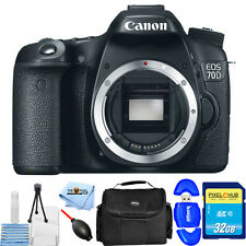 Canon EOS 70D DSLR Camera (Body Only)!! STARTER BUNDLE USA MODEL BRAND NEW!!