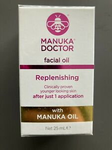 MANUKA DOCTOR FACIAL OIL REPLENISHING 25ml WITH MANUKA OIL