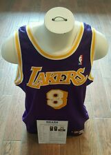 4e81a2044ff 1998-99 LA LAKERS KOBE BRYANT GAME USED & SIGNED AUTHENTIC JERSEY MEARS  LETTER