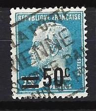 France 1926 timbre surchargée Yvert n° 222 oblitéré 1er choix (3)
