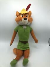 "Rare Walt Disney Hoop Retail Stores Robin Hood Fox 18"" Plush - Free Shipping"