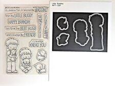 My Favorite Things Little Buddies Stamp Set and MFT Little Buddies Die-namics