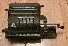 Brunsviga 20 Mechanical Calculator c1910 fully working Vintage Antique Rare