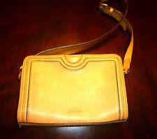 "KATE SPADE ""SATURDAY"" Purse Brown-Tan Leather Handbag"