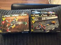 Knex Bundle 1996 Launch Power Team And Sky Force Lot