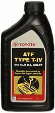 FACTORY OEM TOYOTA ATF TYPE T-IV AUTOMATIC TRANSMISSION FLUID OIL LEXUS