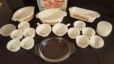 NEW IN BOX  DYNAWARE 28 Piece Victoria Bakeware Set Cook Serve Ensamble