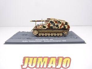 "PZ21 Tank militaire 1/72 PANZER Hummel Pz Div. ""Feldherrnhalle"" Budapest - 1945"