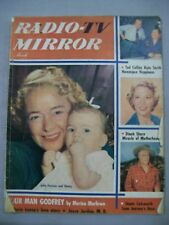 TV RADIO MIRROR MARCH 1952 TED COLLINS KATE SMITH DINAH SHORE JULIE STEVENS