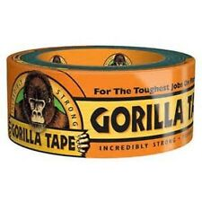 "Gorilla Tape 2.88"" X 30 Yds Extra-thick aggressive adhesive sticks rough Surface"